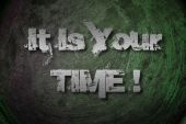 それはあなたの時間の概念 — ストック写真