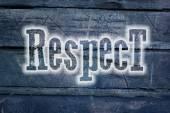 Respect Concept — Stock Photo
