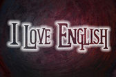 Love English Concept — Stock Photo