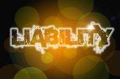 Liability Concept — Stock Photo