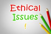 Ethical Issues Concept — Stock Photo