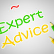 Expert Advice Concept — Stock Photo #56311825