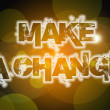 Make A Change Concept — Stock Photo #56314731