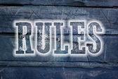 Pojęcie zasad — Zdjęcie stockowe