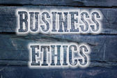 Business Ethics Concept — Stockfoto