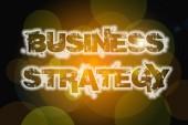 ビジネス戦略の概念 — ストック写真