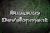 Business Development Concept — Stock Photo