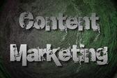 содержание концепции маркетинга — Стоковое фото