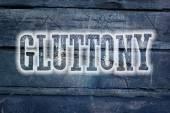 Gluttony Concept — Stock Photo
