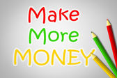 Make More Money Concept — Foto Stock