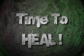 Time To Heal Concept — Stockfoto