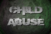 Child Abuse Concept — Stock Photo