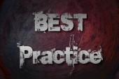 Najlepsze praktyki koncepcja — Zdjęcie stockowe