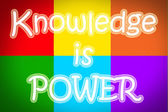 Knowledge Is Power Concept — Stockfoto
