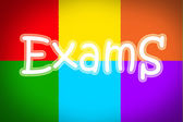 Exams Concept — Stock Photo