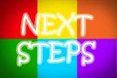 Next Steps Concept — Stock Photo