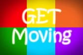Get Moving Concept — Stock Photo