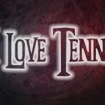 I Love Tennis Concept — Stock Photo #56357609