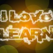 I Love Learn Concept — Stock Photo #56357863