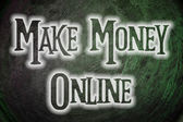 Make Money Online Concept — Foto Stock