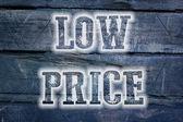 Low Price Concept — Stock Photo