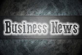 Business News Concept — Stock Photo