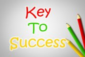 Key to success Concept — Stock Photo