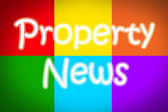 Property News Concept — Stock Photo