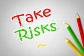 Take Risks Concept — Stock Photo