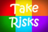 Risk kavramı al — Stok fotoğraf