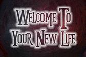 Zapraszamy do nowej koncepcji życia — Zdjęcie stockowe