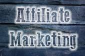 Affiliate Marketing Concept — Stock Photo