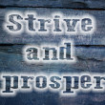 Strive And Prosper Concept — Stock Photo #61495077