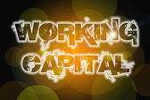 Working Capital Concept — Stock Photo