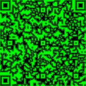 Illustration QR code — Stock Photo