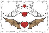 Wings of Love 3 — Stock Vector