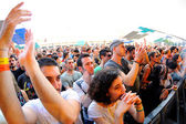 Audience at Sonar Festival — Stock Photo