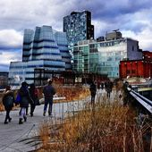 High Line in New York City — Stock Photo