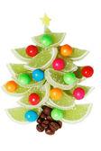 Marmalade Christmas tree — 图库照片