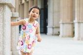 Little asian girl — Stock Photo