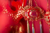 Chinese new year's decoration. — ストック写真