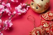 Decoración del año nuevo chino. — Foto de Stock