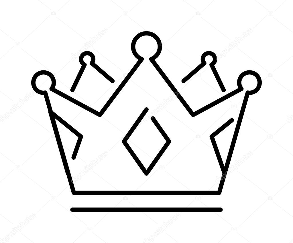 Line Drawing Crown : King crown line art pictures to pin on pinterest daddy