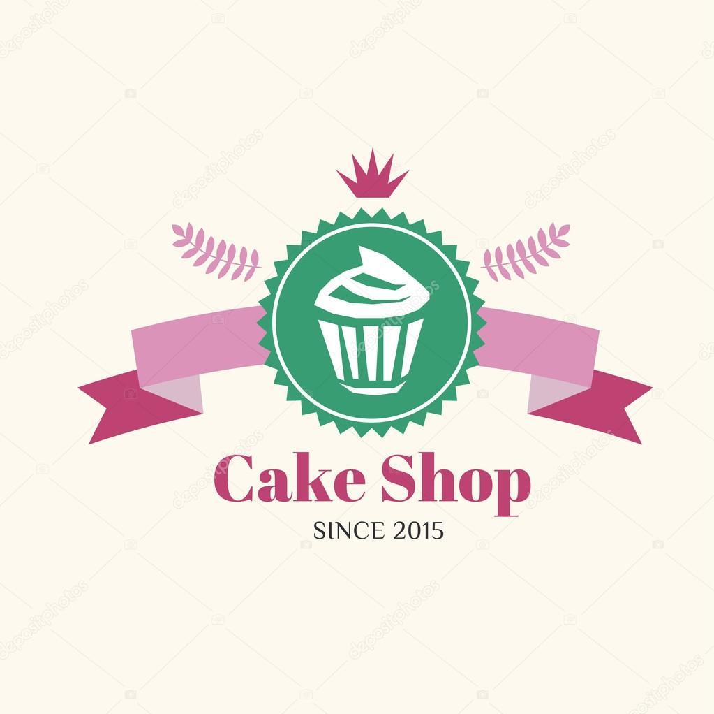 Cake Labels Design Vector