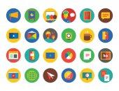 Training Icon Set. Webinar and business symbols. Stocks design elements. — Photo