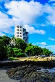 Blue sea and sky Thailand. — Stock Photo