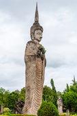 Big buddha statue at Nong-kai, Thailand. — Stock Photo