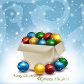 Buon natale e felice anno nuovo! — Vettoriale Stock