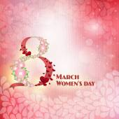 Women's day, the eighth of March — Stock Photo