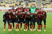 Shakhtar, Donetsk - Goverla, Uzhgorod soccer game — Zdjęcie stockowe